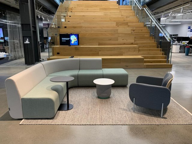 Stoked to see Fletcher Design new releases featured in the foyer of @warrenmahoney Auckland studio: Landscape V2 Modular Seating, Lando Lounge Chair and Porcini Side Table. Looking good 👌🏾 - - NZ Designed & Made - #commercialinteriors #commercialfurniture #workplacedesign #workplacefurniture #nzdesign #nzmade