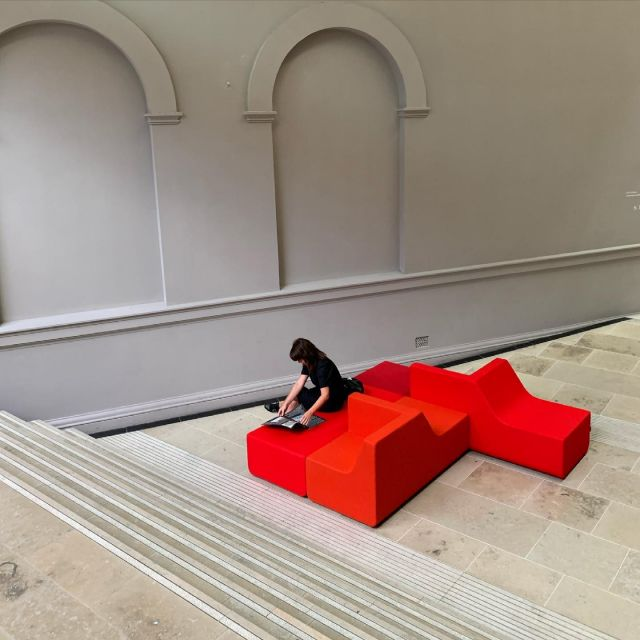 Our Portrait seating l👀king good👌🏽 - #fletcherdesign