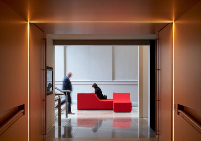 Hot shot by @simon.c.wilson of our Portrait seats at @aucklandartgallery🔥 - #fletcherdesign #aucklandartgallery